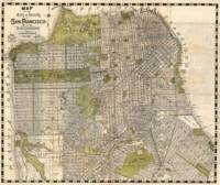 Vintage Map of San Francisco (1932)
