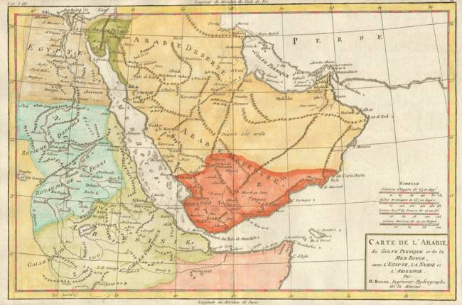 Vintage map of saudi arabia 1780 by alleycatshirts zazzle fitting 000 gumiabroncs Gallery