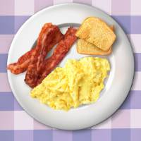 """Swansons Breakfast Poster (Movie Size Ratio)"" by originaldave77"
