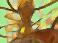 Honey Pastel Abstract