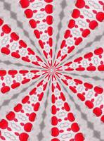abstract pattern red