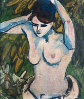 Woman with Raised Arms, 1910 (oil on canvas)