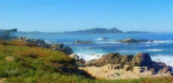 Carmel Bay and Point Lobos
