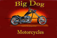 Big Dog Motorcycle w/ ID
