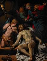 The Lamentation, c.1617 (oil, heightened in gold,