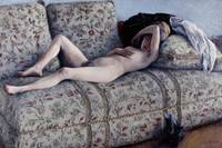 Nude on a Couch, c.1880 (oil on canvas)