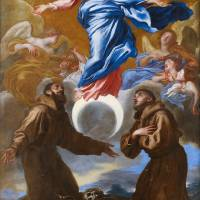"""The Immaculate Conception with Saints Francis of A"" by fineartmasters"
