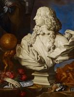 Allegorical Still Life with Bernini's Bust of Fran