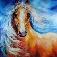 STARBRIGHT PALOMINO  by Marcia Baldwin