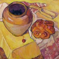 Yellow Still Life-2 Art Prints & Posters by Ivan Kolisnyk