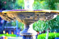 Colorful New Orleans Fountain by Carol Groenen