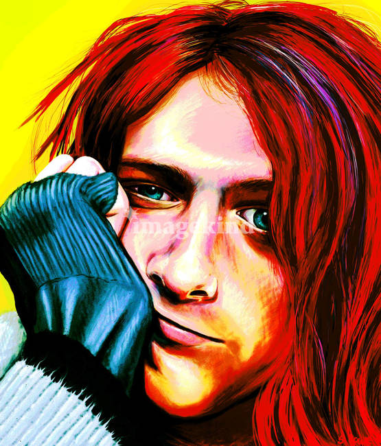 Kurt cobain - Ultra Color Version