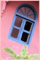 Blue Morrocan Window