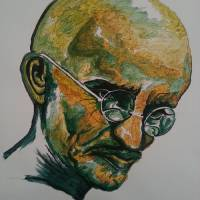 Gandhi Art Prints & Posters by All Points Bulletin