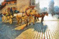 horses on main market