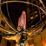 Atlas - Rockefeller Center by James Howe