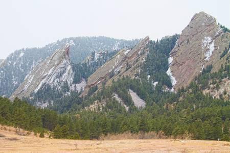 Three Flatirons Boulder Colorado