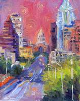 Austin Downtown art painting svetlana novikova