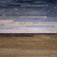 Reclaimed Wood Abstract Landscape