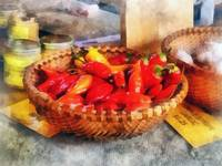 Hot Peppers at Farmers Market