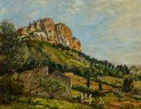 Mount Canaille, Cassis, 1923 (oil on canvas)