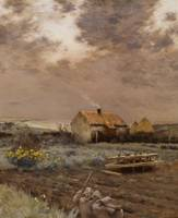 Landscape, c.1880 (oil on canvas)