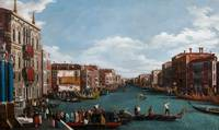 The Grand Canal at Venice (oil on canvas)