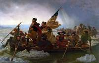 Washington Crossing the Delaware River, 25th Decem