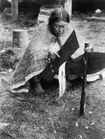 Preparing Cedar Bark (Nakoaktok)