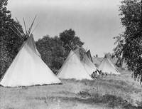 Camp Life (Assiniboine), South Dakota