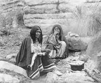 Apache Women at Campfire