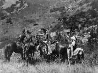 Crow Men On Horseback, An Exchange