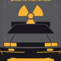 """No183 My Back to the Future minimal movie poster"" by Chungkong"
