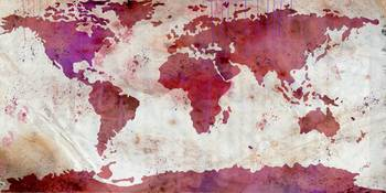 World Map Watercolor-5