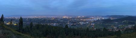 Ferrol, panorámica desde Chamorro
