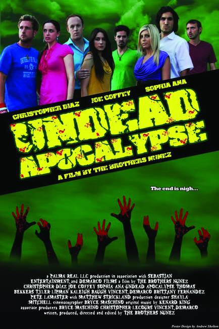 UNDEAD APOCALYPSE MOVIE POSTER