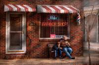 Barber - Metuchen, NJ - Waiting for Mike