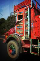 Indian Painted Truck
