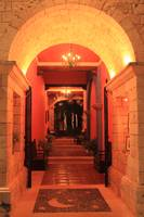 Golden Arched Entry, Playa del Carmen, Mexico