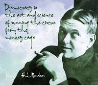 H.L. Mencken on Democracy