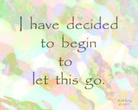 Affirmation: I have decided...