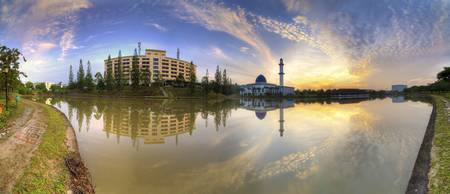 Sunrise | Panorama | Universiti Tenaga Nasional Mo