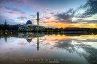 Sunrise @ Universiti Tenaga Nasional Mosque