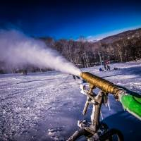snow making by Alexandr Grichenko