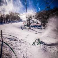 at the ski resort by Alexandr Grichenko