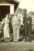 Wesley Thornton and Ruth Allen with T. H. Allen