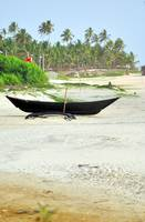 Traditional Boat on Beach