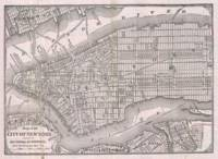 Vintage Map of New York City (1886)