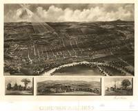 Vintage Pictorial Map of Concord NH (1899)