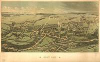 Vintage Map of Quincy Massachusetts (1877)